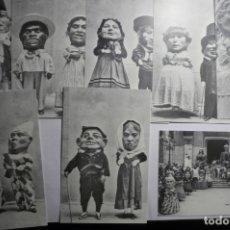 Postales: LOTE POSTALES EDIC.MODERNA MOTIVO 150 AÑOS CABEZUDOS TARRAGONA-EDITA AYUNTAMIENTO. Lote 180042776