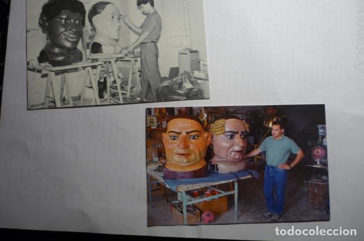 LOTE POSTALES CABEZUDOS TARRAGONA EDIC.MODERNA AYUNTAMIENTO TARRAGONA CONMEMORACION 150 AÑOS (Postales - España - Cataluña Moderna (desde 1940))