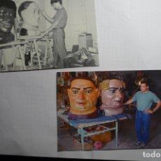 Postales: LOTE POSTALES CABEZUDOS TARRAGONA EDIC.MODERNA AYUNTAMIENTO TARRAGONA CONMEMORACION 150 AÑOS. Lote 180042782