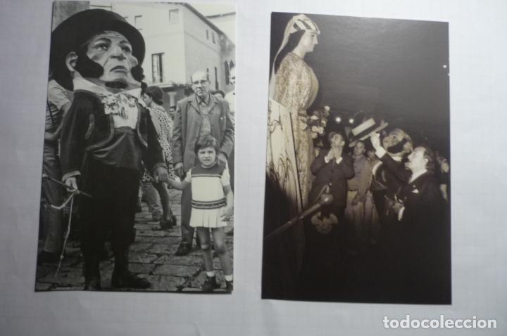 LOTE POSTALES MODERNAS GIGANTES Y CABEZUDOS TARRAGONA Y DALI -EDIC.AYUNTAMIENTO 150 ANIV. (Postales - España - Cataluña Moderna (desde 1940))