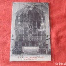 Postales: A. T. V. 2624. ARGENTONA. ALTAR MAYOR DE LA IGLESIA PARROQUIAL. POSTAL 9 X 14 CM.. Lote 180043455