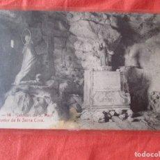 Postales: A. T. V. 14. SANTUARI DE S. MAGI. INTERIOR DE LA SANTA CAVA. POSTAL 9 X 14 CM.. Lote 180043587