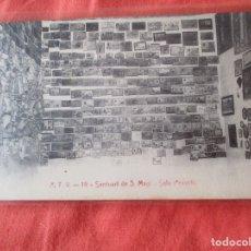 Postales: A. T. V. 19. SANTUARI DE S. MAGI. SALA D'EXVOTS. POSTAL 9 X 14 CM.. Lote 180043643
