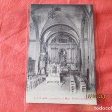 Postales: A. T. V. 18. SANTUARI DE S. MAGI. INTERIOR DEL SANTUARI. POSTAL 9 X 14 CM.. Lote 180043667