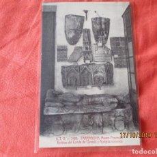 Postales: A. T. V. 2195. TARRAGONA. MUSEO PROVINCIAL ESTATUA DEL CONDE DE QUERALT Y.... POSTAL 9 X 14 CM.. Lote 180043863