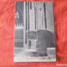Postales: A. T. V. 276. BARCELONA. CATEDRAL. SILLA ESPICOPAL EN EL PRESBITERIO. POSTAL 9 X 14 CM.. Lote 180044156