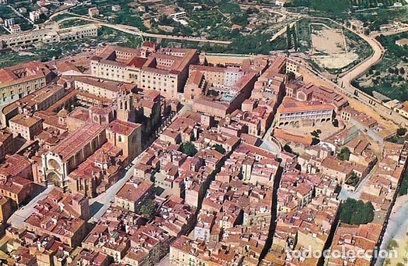 TARRAGONA LA CATEDRAL VISTA AEREA ED. AEROPOST Nº 1116 AÑO 1961 (Postales - España - Cataluña Moderna (desde 1940))