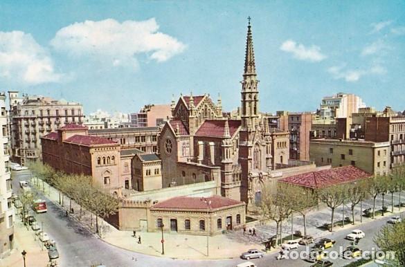 BARCELONA COLEGIO DE LA INMACULADA H. H. MARISTAS VISTA GENERAL ED. VALMAN Nº E-253 AÑO 1964 (Postales - España - Cataluña Moderna (desde 1940))