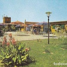 Postales: GIRONA CAMPING SAN PEDRO PESCADOR COSTA BRAVA ED. VALMAN Nº D-302 AÑO 1961. Lote 180080576