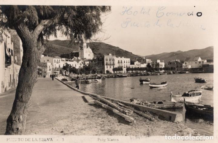PUERTO DE LA SELVA. 3 PUIG MATAS. LLENSA (Postales - España - Cataluña Antigua (hasta 1939))