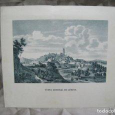 Postales: LERIDA. LLEIDA. VISTA GENERAL. FELICITACION SOCIEDAD ANONIMA GROBER. Lote 180104895
