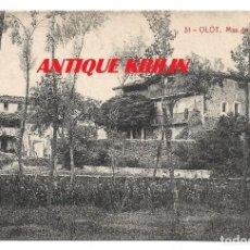 Postales: OLOT Nº 31 MAS DE LA SALUD .- FOTOTIPIA THOMAS . Lote 180109332