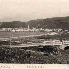 Postales: PUERTO DE LA SELVA. 4 CAMPO DE FUTBOL. LLENSA. Lote 180119632