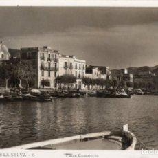 Postales: PUERTO DE LA SELVA. 6 PLAZA COMERCIO. LLENSA. Lote 180119708