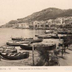 Postales: PUERTO DE LA SELVA. 12 VISTA PARCIAL DE LA LLOIA Y RIBA. LLENSA. Lote 180119811