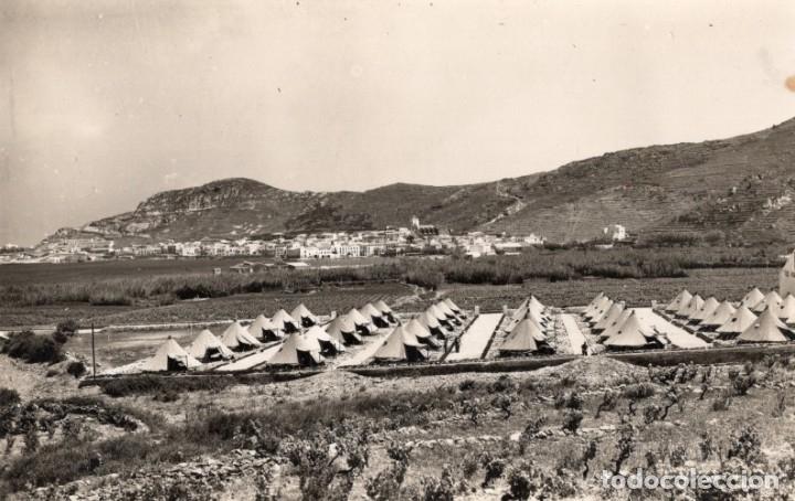 PUERTO DE LA SELVA. CAMPAMENTO MILITAR. MELI (Postales - España - Cataluña Antigua (hasta 1939))