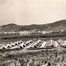 Postales: PUERTO DE LA SELVA. CAMPAMENTO MILITAR. MELI. Lote 180120588