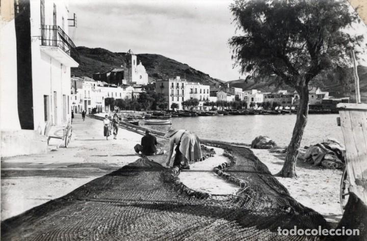 PORT DE LA SELVA. REMENDANDO REDES. CAMPAÑÁ (Postales - España - Cataluña Antigua (hasta 1939))