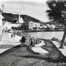 Postales: PORT DE LA SELVA. REMENDANDO REDES. CAMPAÑÁ. Lote 180120868