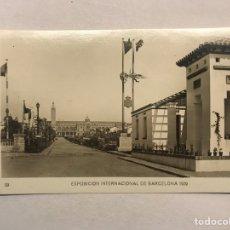 Postales: BARCELONA. EXPOSICIÓN INTERNACIONAL DE 1929. POSTAL NO.29, AVENIDA DEL ESTADIO. GRÁFICAS E. J. B.. Lote 180141018