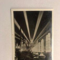 Postales: BARCELONA. EXPOSICIÓN INTERNACIONAL DE 1929. POSTAL NO.22, AVENIDA REINA MARÍA CRISTINA, NOCTURNA.. Lote 180143483
