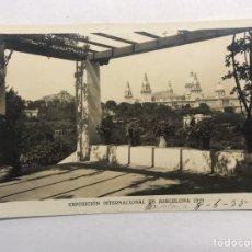 Postales: BARCELONA. EXPOSICIÓN INTERNACIONAL DE 1929. POSTAL NO.6, PALACIO NACIONAL DESDE LA ROSALEDA. Lote 180144697
