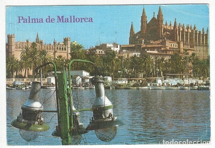 1168 - PALMA DE MALLORCA.- LA CATEDRAL Y LA LONJA (Postales - España - Cataluña Moderna (desde 1940))