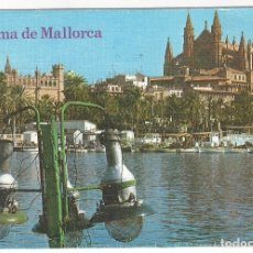 Postales: 1168 - PALMA DE MALLORCA.- LA CATEDRAL Y LA LONJA. Lote 180243963