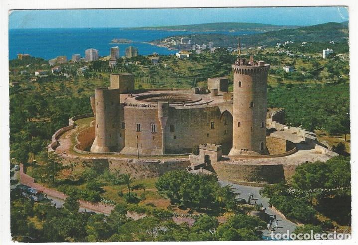 MALLORCA- PALMA .- CASTILLO DE BELLVER. VISTA AEREA (Postales - España - Cataluña Moderna (desde 1940))
