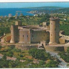 Postales: MALLORCA- PALMA .- CASTILLO DE BELLVER. VISTA AEREA. Lote 180244698