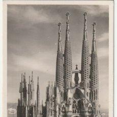 Postales: POSTAL TEMPLO DE LA SAGRADA FAMILIA BARCELONA - -R-7. Lote 180263946