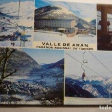 Postales: POSTAL VALLE DE ARAN -PARADOR TURISMO. Lote 180269321