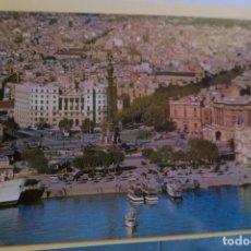 Postales: BARCELONA VISTA EN HELICÓPTERO ATARAZANAS SERIE II NÚM 91. Lote 180285395