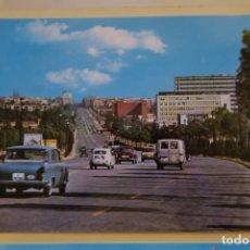 Postales: BARCELONA AVENIDA DEL GENERALÍSIMO FRANCO SERIE II NÚM 68. Lote 180285730