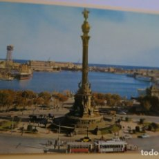 Postales: BARCELONA MONUMENTO A CRISTOBAL COLÓN 23 SOBERANAS. Lote 180285882