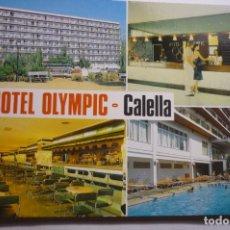 Postales: POSTAL HOTEL OLYMPIC-CALELLA CIRCULADA. Lote 180337817