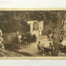 Postales: POSTAL DE SANT HILARI SACALM 4. LA FONT D'EN PICO-PICO 1931. CIRCULADA. . Lote 180438650