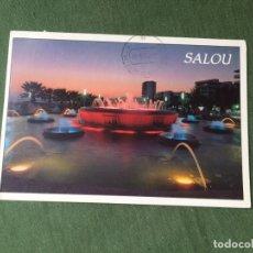 Postales: POSTAL- SALOU - LA DE LA FOTO VER TODOS MIS LOTES DE POSTALES. Lote 180450527