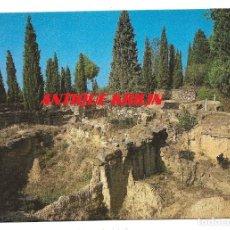 Postales: ULLASTRET Nº 24 POBLAT IBERIC , VISTA GENERAL .- ESCUDO DE ORO . Lote 180452123