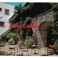 Postales: MASSANET DE CABRENYS .- HOTEL PIRINEO .- TERRASA DEL JARDI .- FOTO ZERKOWITZ . Lote 180507273