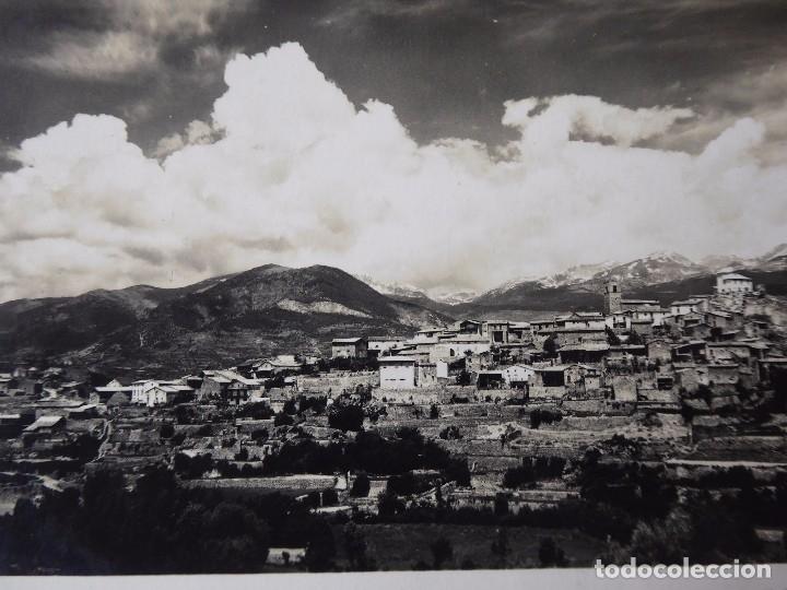 Postales: P-9561. MONTELLÁ (LLEIDA). VISTA GENERAL. AÑO 1953. CIRCULADA - Foto 2 - 180514002