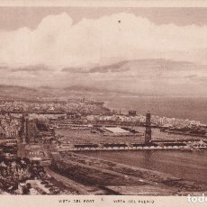 Postales: BARCELONA - VISTA DEL PUERTO (NO. 31) - ED. ZERKOWITZ. Lote 181199520