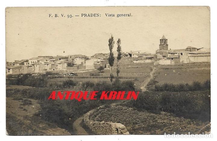 TARRAGONA .- PRADES Nº 93 VISTA GENERAL .- F.B.V. POSTAL FOTOGRAFICA / SIN CIRCULAR (Postales - España - Cataluña Antigua (hasta 1939))