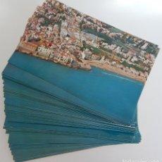Postales: MÁS DE 120 POSTALES (TODAS IGUALES) / 1127 SITGES – VISTA AÉREA – VALICAR. Lote 181442845
