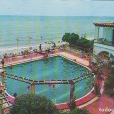 Postales: ALCANAR (TARRAGONA). HOTEL BIARRITZ . PISCINA. Lote 181787380