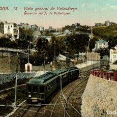 Postales: BARCELONA. VISTA GENERAL DE VALLVIDRERA. Lote 182387040
