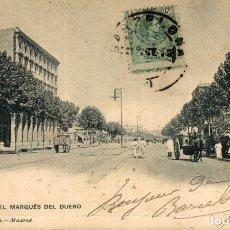 Postales: BARCELONA. CALLE DEL MARQUES DEL DUERO. Lote 182402155
