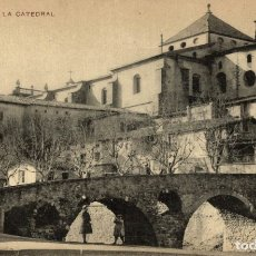 Postales: VICH. ABSIDE DE LA CATEDRAL. Lote 182403183