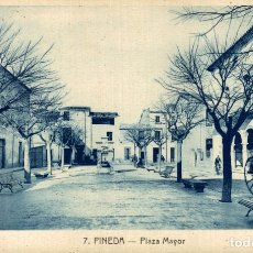 Postales: PINEDA. PLAZA MAYOR. Lote 182406887