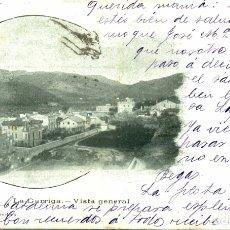 Postais: RARA PERO LADO IZQ DAÑADO LA GARRIGA VISTA GENERAL. Lote 182412926